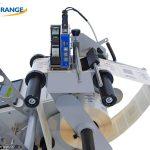 WIDE RANGE - Etichettatrice semiautomatica per prodotti cilindrici DWR ROUND - www.widerange.it