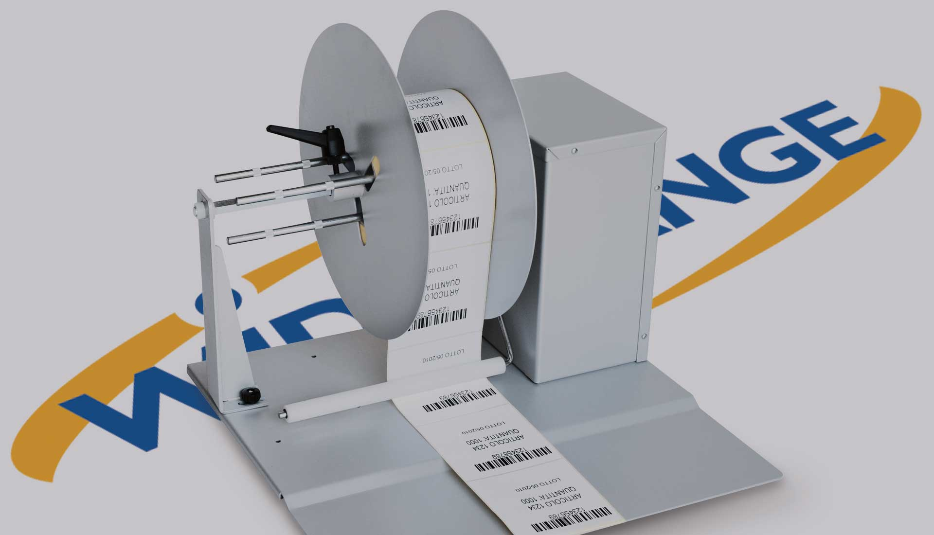 SERIE RWR Rewinder for self adhesive labels