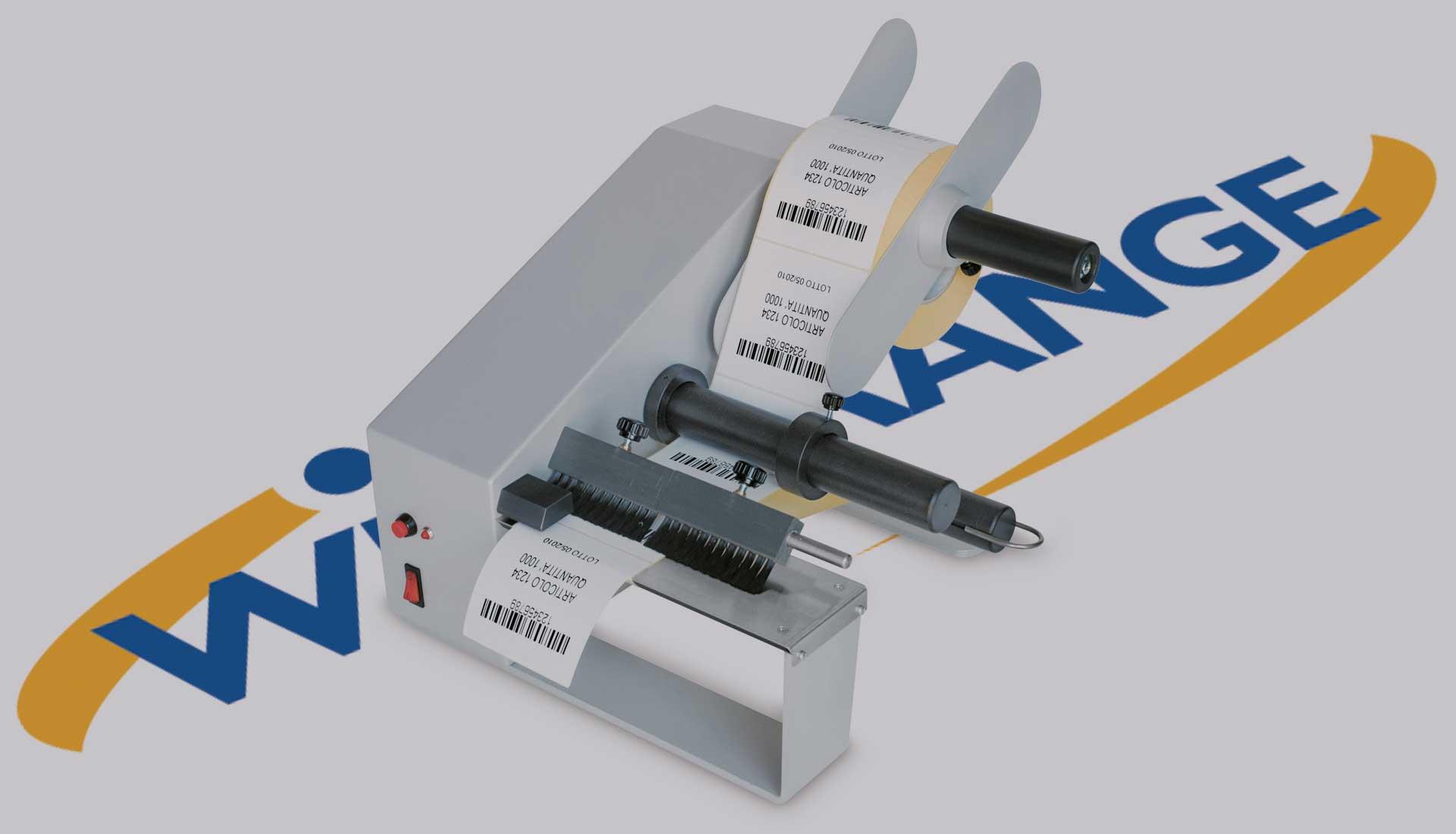DWR Dispenser per etichette autoadesive