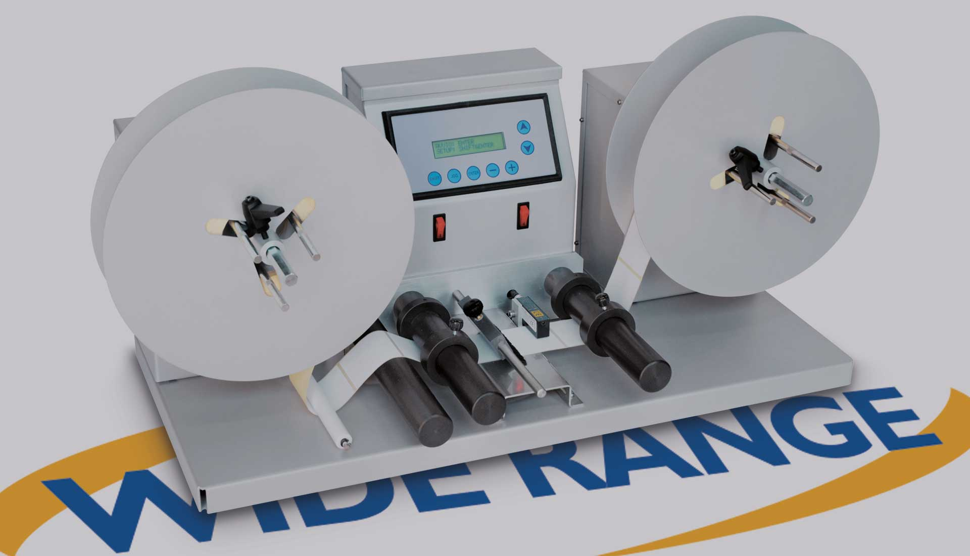 RW COUNTER CHECK  unit for handling self-adhesive labels