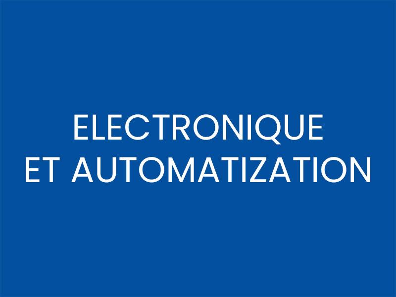 ELECTRONIQUE ET AUTOMATIZATION