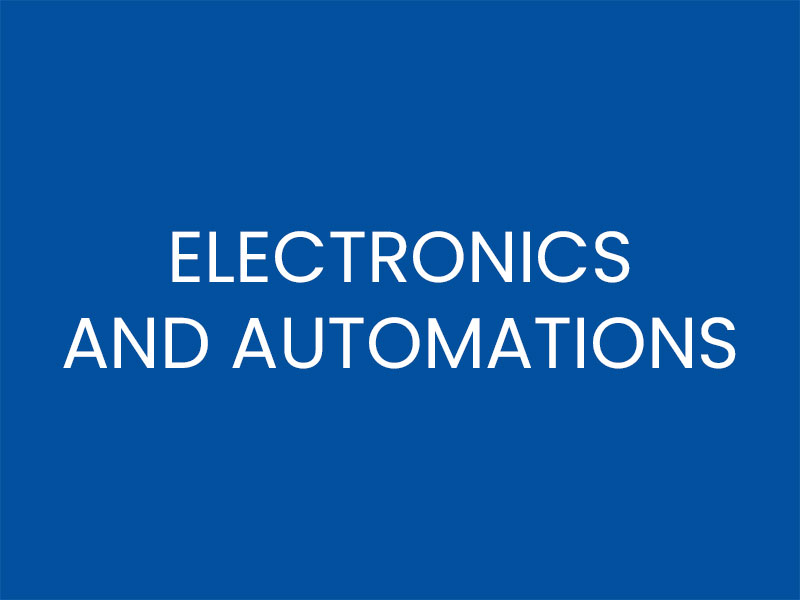 ELECTRONICS AND AUTOMATIONS
