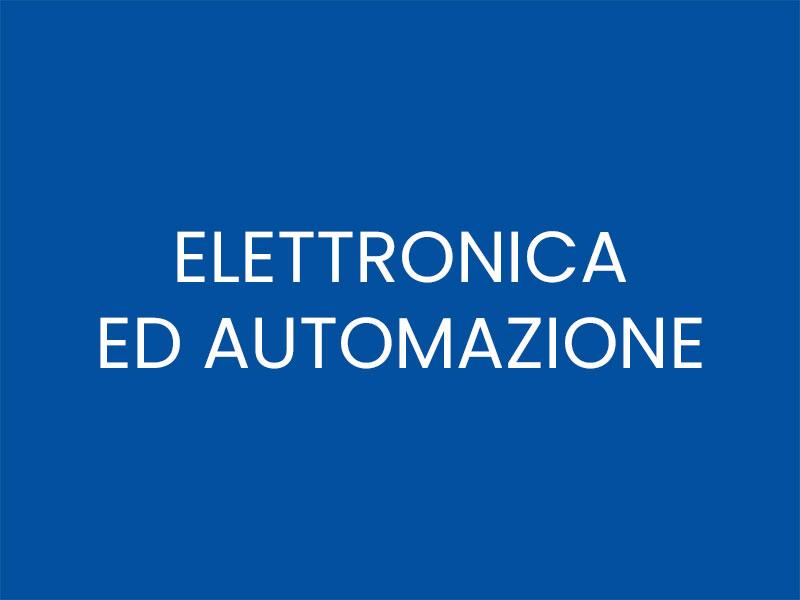 ELETTRONICA ED AUTOMAZIONE